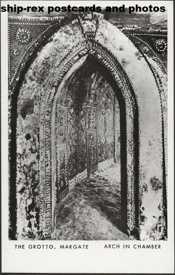 Margate, The Grotto, postcard (b)
